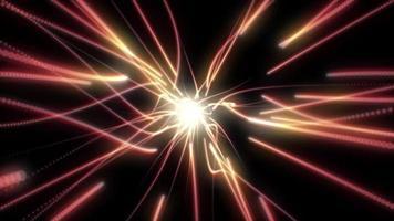 achtergrondanimatie van deeltjesspoor video