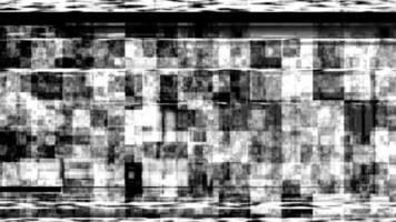 animation de boucle de bruit glitch vhs video