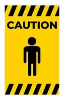 Prohibit People Allowed,Do Not Enter,No Man Entry Sign Isolate On White Background,Vector Illustration vector