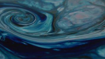 abstracte achtergrond textuur kleur loops en explosies. video