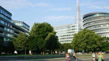 timelapse london city i england video