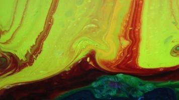 abstracte grunge inkt verf verspreid achtergrond video