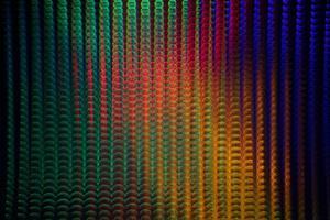 Multicolored screen of light photo