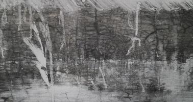 Fondo de textura de cemento viejo gris. cemento horizontal y textura de hormigón. foto