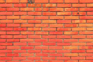 Old brick wall Background made from bricks Wall surface texture photo