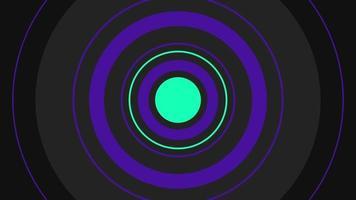 abstrakt bakgrund olika former rörelse koncept video