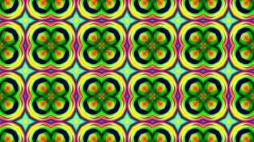 abstrakte mehrfarbige Textur Hintergrund Kaleidoskop video