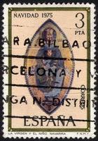 Turquía, 2021 - sello postal español vintage foto