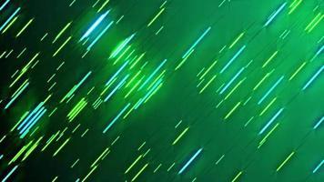 animação em loop de fundo de linhas verdes neon video