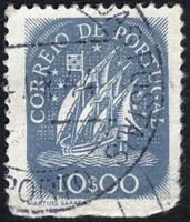 Turkey, 2021 - Vintage Portugal postage stamp photo