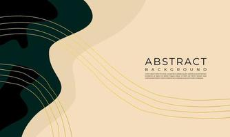 Modern abstract trendy background. Great design for postcard, banner, brochure, wall decoration. vector