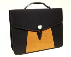 Briefcase in different colors photo