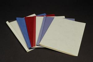 Types of folders for offices and government offices photo