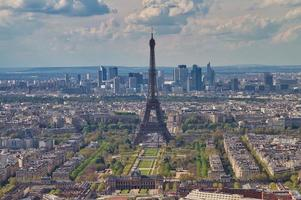 Eiffel Tower at Paris France photo