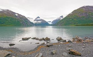 Early Morning on a Glacial Lake photo
