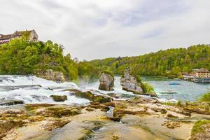 Rhine Falls in Neuhausen am Rheinfall, Switzerland photo