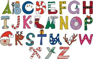 Vector of the Christmas Letters