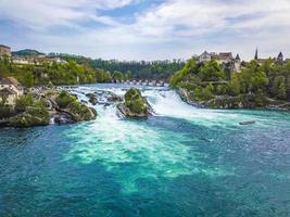 Rhine Falls at Neuhausen am Rheinfall, Switzerland photo