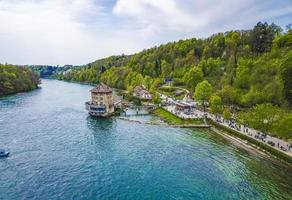 Landscape at Neuhausen am Rheinfall, Switzerland photo