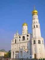 architecture church in the the Kremlin, Moscow Russia photo
