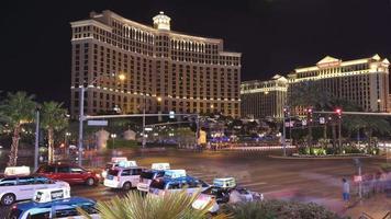 Las Vegas, Nevada - April 8, 2014 Timelapse shot of the Las Vegas Strip video
