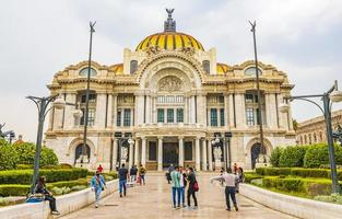 The Palace of Fine Arts in Mexico City, Mexico, 2021 photo