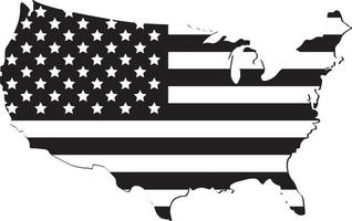 Vector of the america