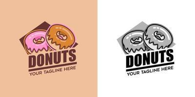 donut logo vector