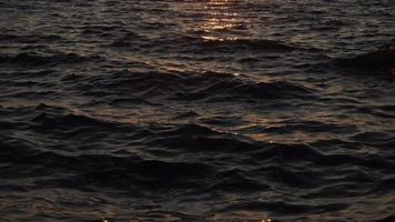 Calm Sea Water Surface Background video