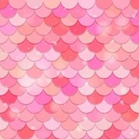Fish scale seamless pattern background vector