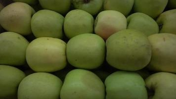Pile Of Green Apples video