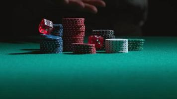 Rolling the dice in slow motion, shot on Phantom Flex 4K at 1000 fps video