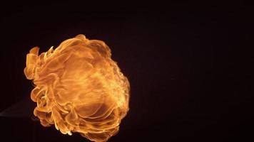 Fireball in slow motion, shot on Phantom Flex 4K at 1000 fps video