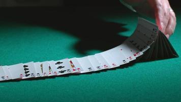 Card tricks in slow motion, shot on Phantom Flex 4K at 1000 fps video
