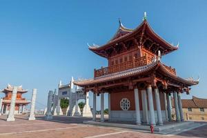 Chinese traditional religious architecture photo