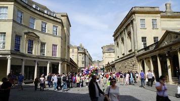 timelapse Bath City in United Kingdom video