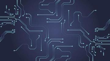 Computer technology circuit background vector