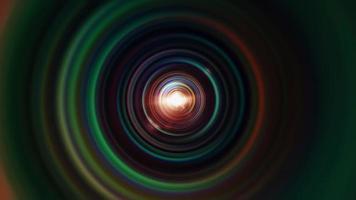 Varicolored Rainbow Gradient Circle Loop video