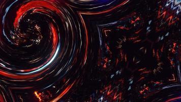 efecto de fondo de animación rojo azul resplandor grunge. video