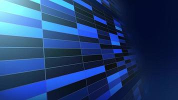Abstract technology futuristic concept blue background video