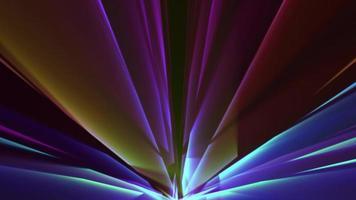 tecnología abstracta concepto futurista fondo azul video