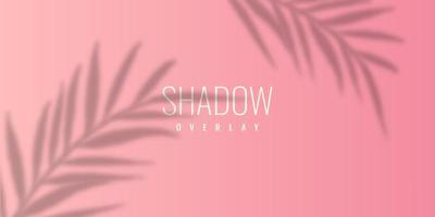 Shadow overlay background illustration template design vector