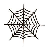 Halloween spider's web. vector