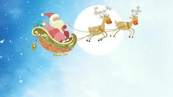 Here Comes Santa Claus video