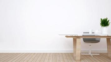 espacio de trabajo en casa o apartamento foto