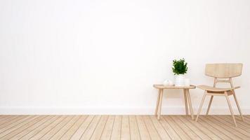 sala de estar en cafetería o apartamento foto