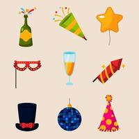 things to complete the fun of the party vector