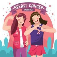 Breast Cancer Activist Concept vector