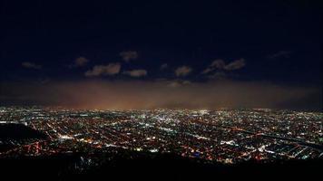 bellissima città e natura di Sapporo nell'Hokkaido in Giappone? video