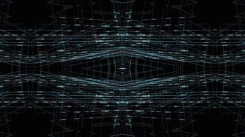 symmetrical patterns,VJ fractal kaleidoscope seamless loop animation. video